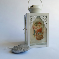 Father Christmas Lantern (Ref 0041)