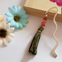 Cherry Quartz Tassle Bookmarks (Ref 0057)