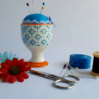 Egg Cup Pin Cushion (Ref 0064)
