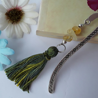 Citrine Tassle Bookmark (Ref 0087)