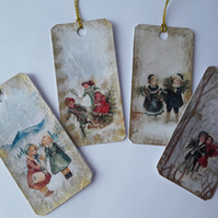 Vintage Christmas Gift Tags (Ref 0085)
