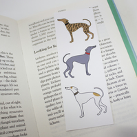 Whippet bookmark - Gifts for book lovers