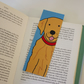 Greg Golden Retriever bookmark