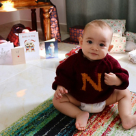 The Weasley Sweater - Baby sizes from newborn to 2 years.