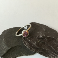Bethany Pink Sparkle Ring