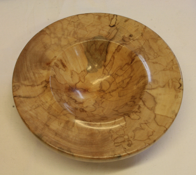 Spalted Sycamore Wood Trinket Bowl