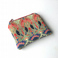 Liberty of London 'Ianthe' Tana Lawn coin purse, card pouch, change purse