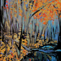 Autumn Woods  - Contemporary Fine Art 'Giclee' Print