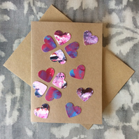 Handmade with Love -  Art Card 001