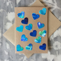 Handmade with Love -  Art Card 008