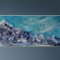 Alpine View Original Acrylic Painting