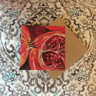 Pomegranate Fine Art Card
