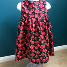 Poppy Pattern Fun Dress