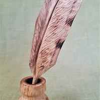 Feather and Inkpot