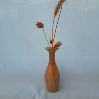 Bud Vase made of Olive Wood