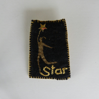 Star Brooch (Felt)