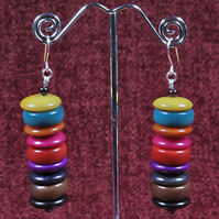 Vibrant Layers 1 Earrings.