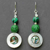 Sea Green 2 Earrings