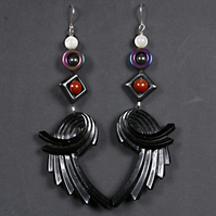 Dark Angel's Wings Earrings.