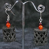 Red Marrakech Earrings.