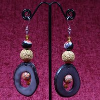 Fire Seed Ring Earrings.