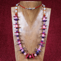 Sea Pink Necklace.