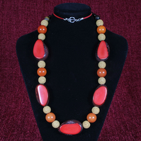 Jungle Red Necklace.