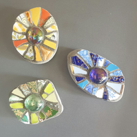 Magnetic mini mosaic