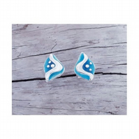 Mini Wave ear studs
