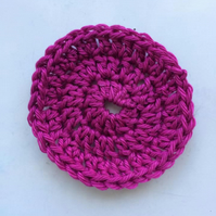 Handmade Reusable Crochet Cotton Pads