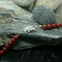 Tesha - Red Jasper and Carnelian - Protection and Survival