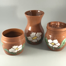 Terracotta Container Set
