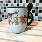 Wildlife Mug and Spoon Set, ideal for Hot Chocolate Mug