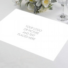 Custom Printed Hardboard Placemat, Personalised Placemat