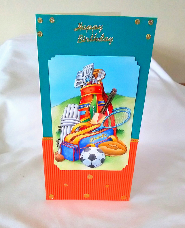 Sports birthday card