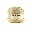 Gold Lurex Yarn, Metallic Tape Yarn, Soft Gold Bulky Yarn