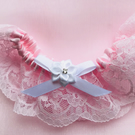 Lace and Satin Wedding Garter