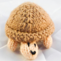 Mini Knitted Sea Turtle Toy - Small World - Collectable