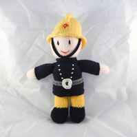 Fireman Doll - Collectable - Mascot Dolls