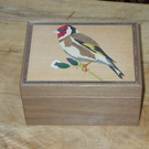Goldfinch Walnut Box