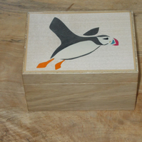 Puffin Oak Box