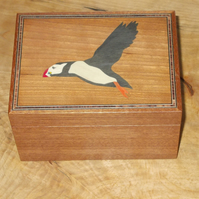 Puffin Mahogany Box