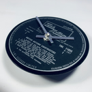 British Motown Chartbusters - clock made from vinyl record.