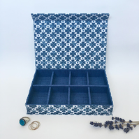 Lucky Handmade Fabric Covered Organiser
