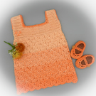 Peachy Sundress Set