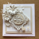 Hand Crafted Wedding Card