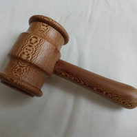 Gavel turned from London Plane