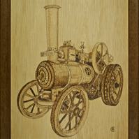 Traction engine Louise