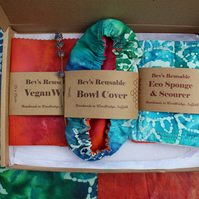 Tie Dye Kitchen Guru Eco Letter Box Gift
