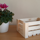 Sturdy Wooden Crate x3 Sizes